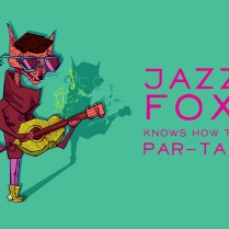 Jazz Fox Knows How to Par-tay