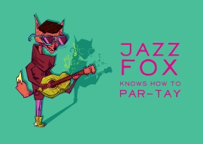Jazz Fox Knows How to Par-tay
