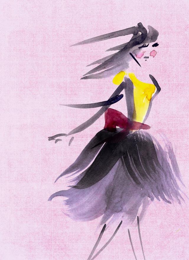 Beau Monde Brush Lady